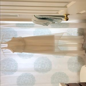 David's Bridal bridesmaid gown